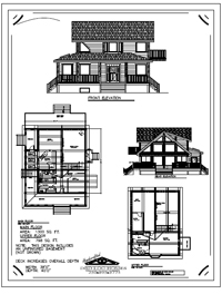 flanders log home stock plans
