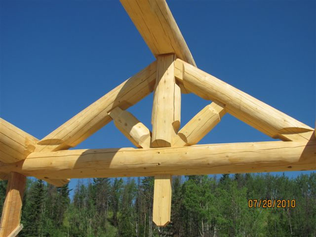 Log Home Trusses